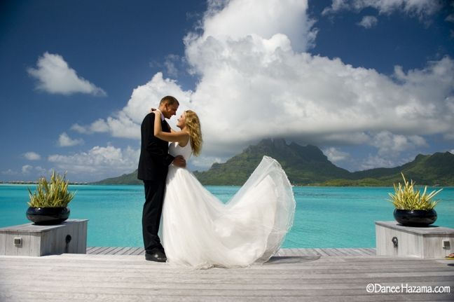 Tahitian Wedding at The St. Regis Bora Bora Resort, French Polynesia