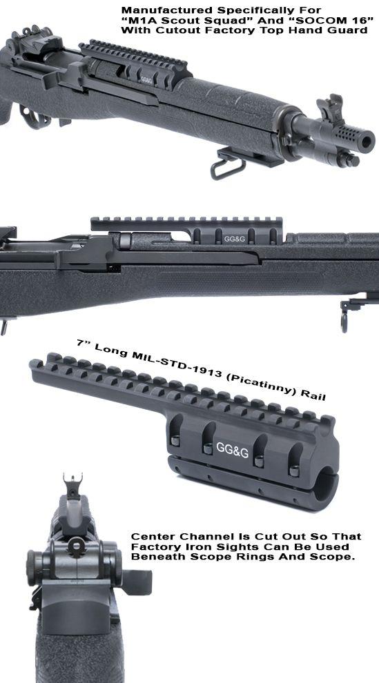 M1A Scout Scope Mount|SOCOM 16| GG&G Tactical Accessories