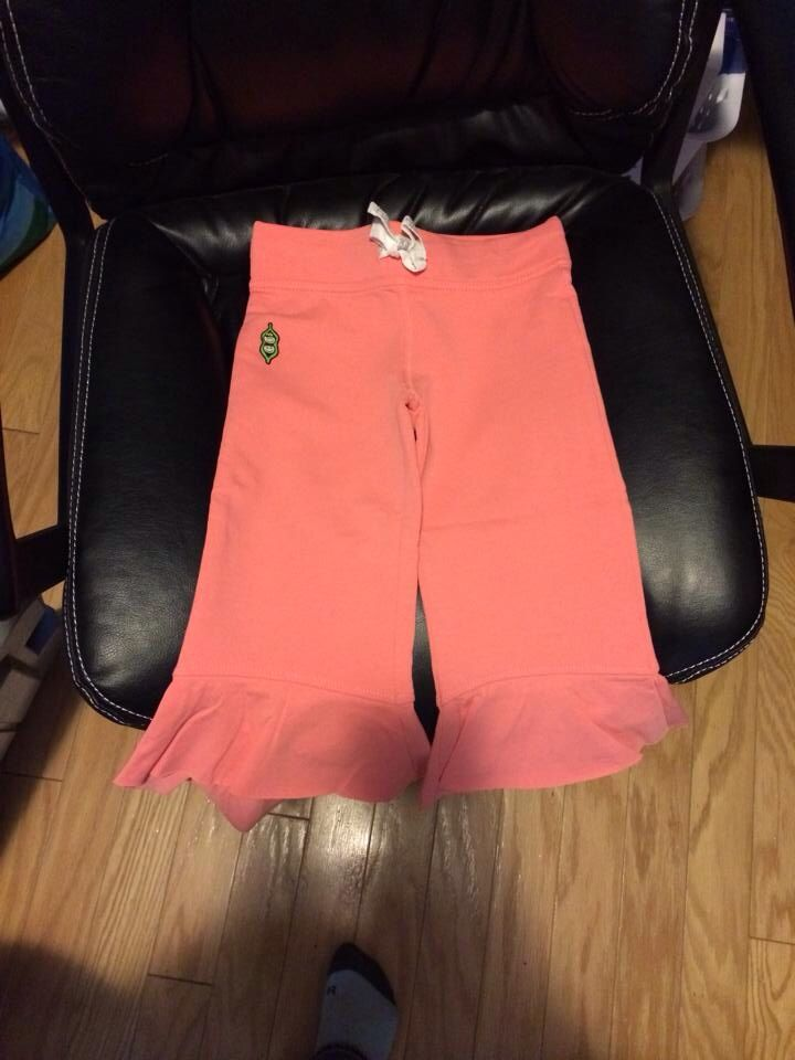 Little Lady Capris, Peach, Size 4