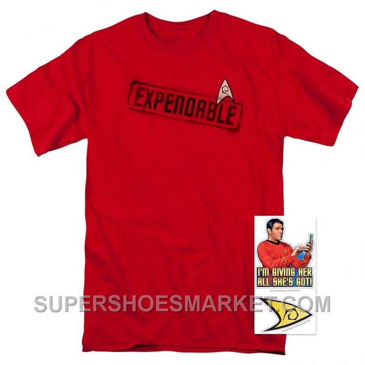 http://www.supershoesmarket.com/star-trek-expendable-t-shirt-and-exclusive-stickers-medium-clothing-online-zwjct.html STAR TREK EXPENDABLE T SHIRT AND EXCLUSIVE STICKERS (MEDIUM): CLOTHING ONLINE ZWJCT : $85.00