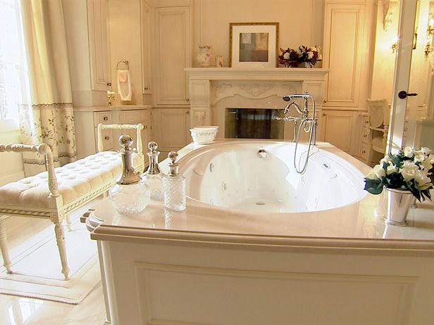 DREAM bathroom style witht he walk in closet , isle dresser and vanity of course attached :) to master bedroom ;)