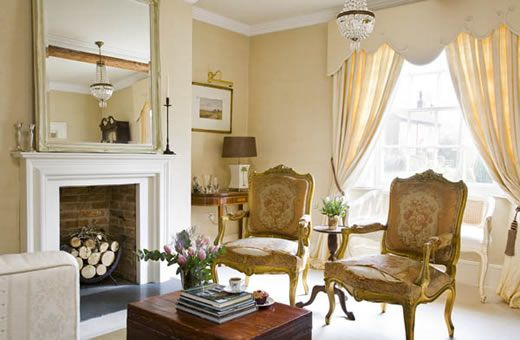 Photograph of a room designed by the treehouse interiors for Georgian interior designs