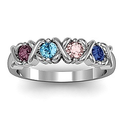 I REALLY want a family ring, BUT 2 of us are born in October and the other 2 in February.... I feel like that just won't work :-(
