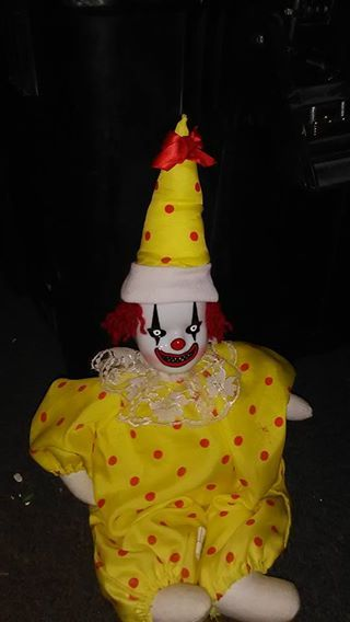 Meet Scrappy the crappy clown! He tried and tried but the kids always screamed and ran away every time he would make balloon animals out of their parents organs. Now Scrappy is sad and looking for a new home. Does your kid have a birthday coming up? Hire Scrappy today! $10