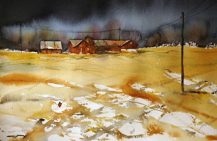 Björn Bernström #watercolor jd
