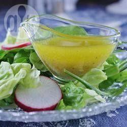Molho de mostarda e mel para salada @ allrecipes.com.br