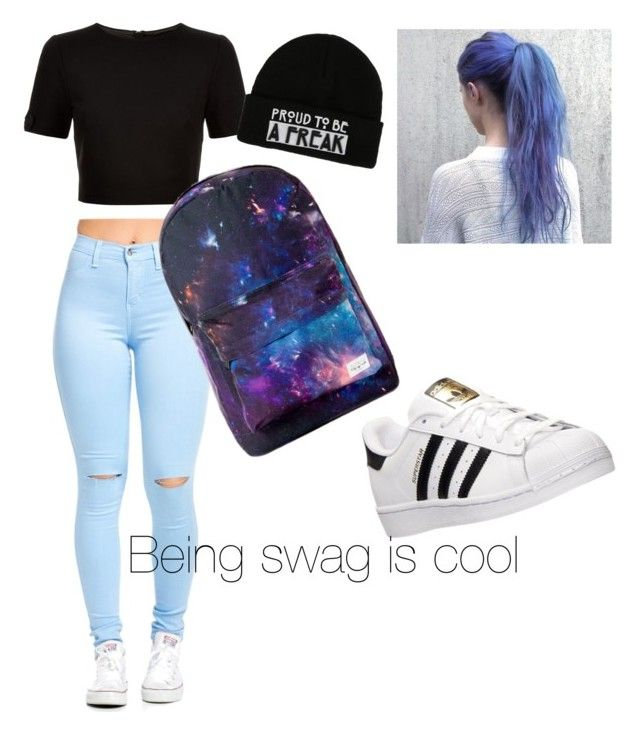 """""""Skate board day"""" by yangui-sarra on Polyvore featuring mode, Ted Baker et adidas"""