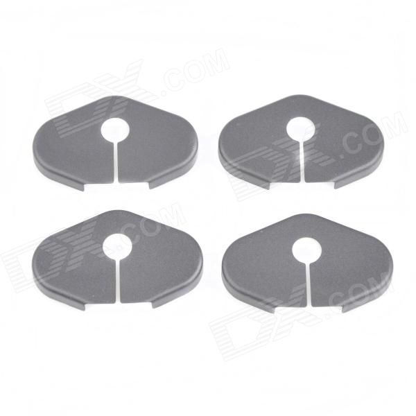 Brand: N/A; Model: BK01; Quantity: 4 piece(s); Material: ABS; Color: Black; Function: Protects car door from rust; Other Features: Car protective covers, rust cover, car special intimate design, the best protection to the car, Don't worry about closing lock rusty paint damage; Suitable for Chevrolet: Mai Rui Bao, Cruze, Volt, Camaro, Captiva, AVEO; Suitable for Buick: Regal, Lacross, EXCELLE, ENCORE; Suitable for Roewe: Roewe 950; Packing List: 4 x Protective covers; http://j.mp/VFZWaF