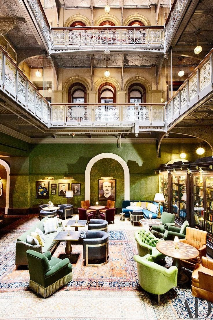 Before it was lower Manhattan's hottest hotel, the building that now houses the Beekman was decaying and shrouded in mystery | archdigest.com