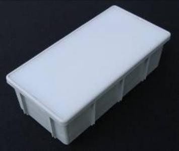 """Kerr Lighting 12 v Commercial Paver Light 4"""" x 8"""" for Walk, Patio, Driveway,& Pool Deck Installation , Box of 10 by Kerr Lighting. $152.38. They also come with a 2 year manufacturer warrantee. Actual size = 3 15/16"""" Wide x 7 7/8"""" High x 2 3/8"""" Deep. You can walk & drive on these lights quite safely.. TJB-INC supplies free technical help by calling 203-287-0636 or E-Mail : tjb@TJB-INC.com.. One of the strongest & most durable ground & surface installed lighting fixtures a..."""