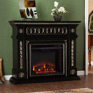 delavan electric fireplace elektrischer kamin mit kaminsimselektrischer - Moderner Kamin Umgibt Kaminsimse