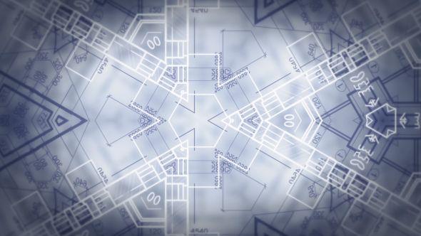 architecture, background, background fancy, blueprint, bright, chemistry, draft, kaleida, kaleidoscope, mathematics