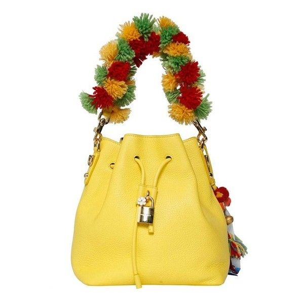 Dolce and Gabbana 'Carretto' Embroidery Crossbody Bag (€1.715) ❤ liked on Polyvore featuring bags, handbags, shoulder bags, yellow, yellow crossbody, embroidery purse, dolce gabbana handbag, crossbody shoulder bags and yellow cross body purse