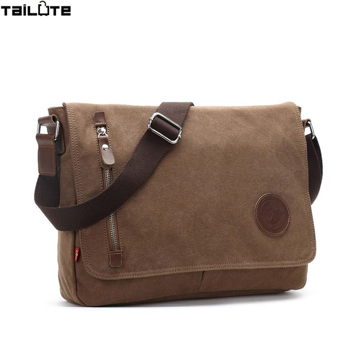 26.46$  Watch now - http://ali970.shopchina.info/1/go.php?t=32796556314 - TAILUTE Fashion Men Messenger Bags High quality Men's Travel Bag Male Shoulder Bag Classical Design Men's Canvas Bags Wholesale  #magazineonline