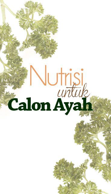 Nutrisi untuk Calon Ayah ::
