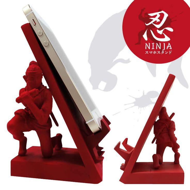 Ninja phone holder. HIS-070 忍者スマートフォンスタンド/くノ一 | 忍者スマートフォンスタンド | | えがおぷらす| エガオプラス