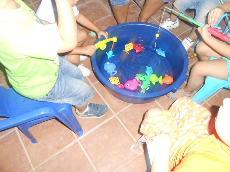 Jugamos a pescar, cumpleaños submarino. Submarine Birthday Party - Inma Torrijos