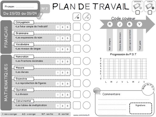 1000 Images About Ecole Plans De Travail On Pinterest