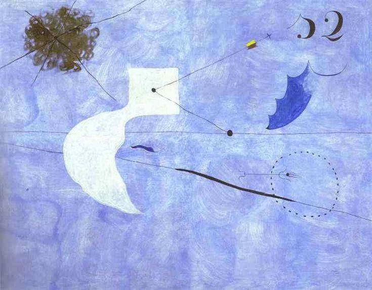 Siesta, 1925 - Joan Miro - 1200artists.com