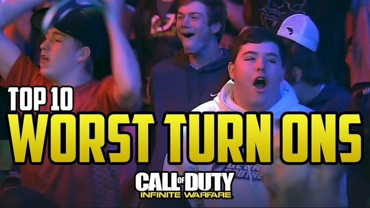 LIKE IF YOU ENJOYED THE TURN ON KILLS !!! SUBSCRIBE FOR MORE COMP COD VIDEOS !!! Follow The Channels Twitter :  In this cod iw video I will be showing the top 10 best turn on career ender worldstar kill from pro players and these plays were on call of duty infinite warfare at lan events such as...  https://www.crazytech.eu.org/top-10-worst-turn-on-kills-in-infinite-warfare/