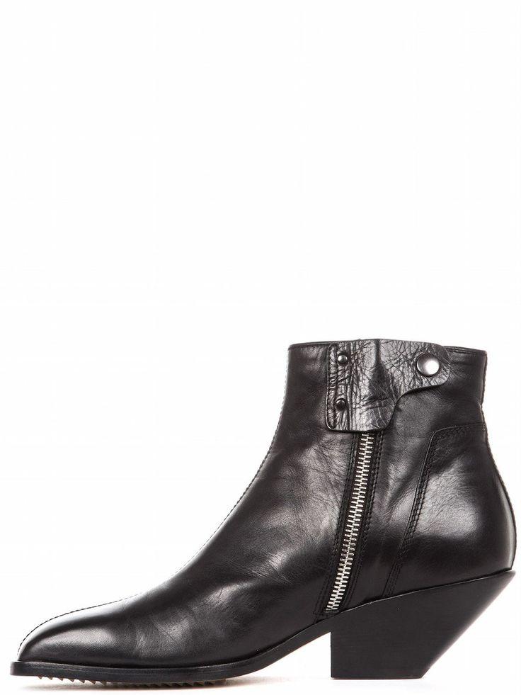 Leather CYCLOPS BIKER Boots Fall/winter Rick Owens IGzaHl1iD