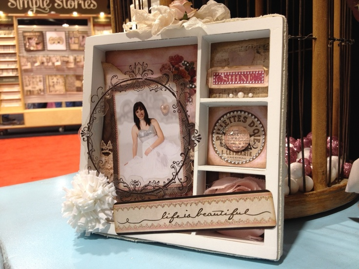 Decorative Shadow Box Captivating 87 Best Shadow Box Images On Pinterest  Altered Art Altered Review