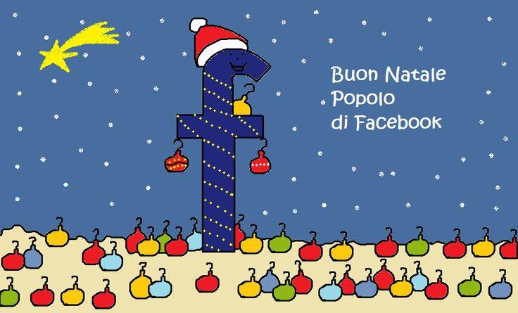 Natale di Facebook