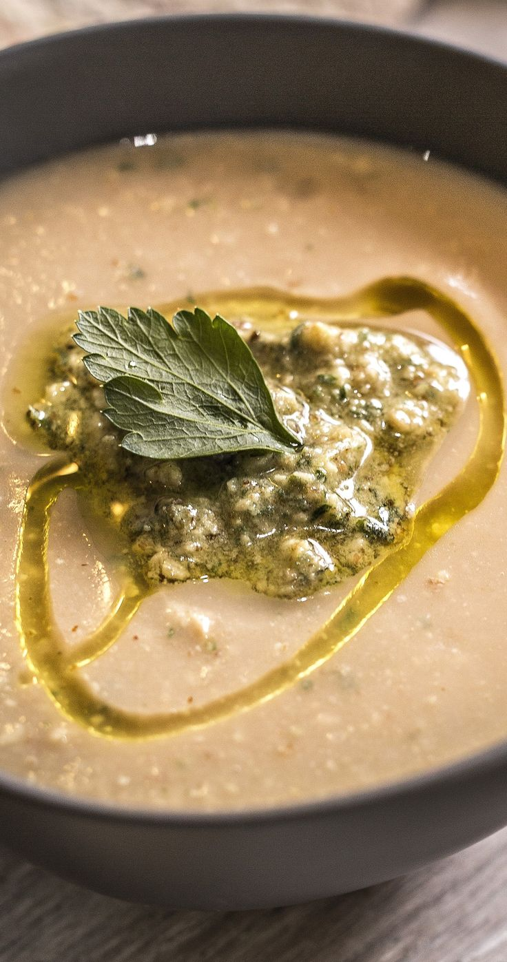A pesto with a difference.  Roasted walnuts make this pesto not only tasty, but more affordable.