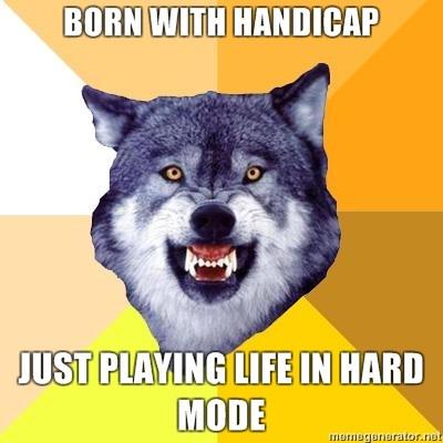 insanity wolf handicap