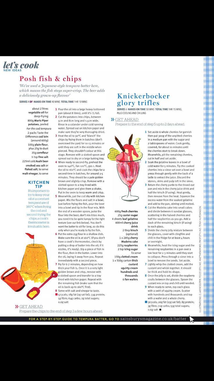 Knickerbocker glory trifles