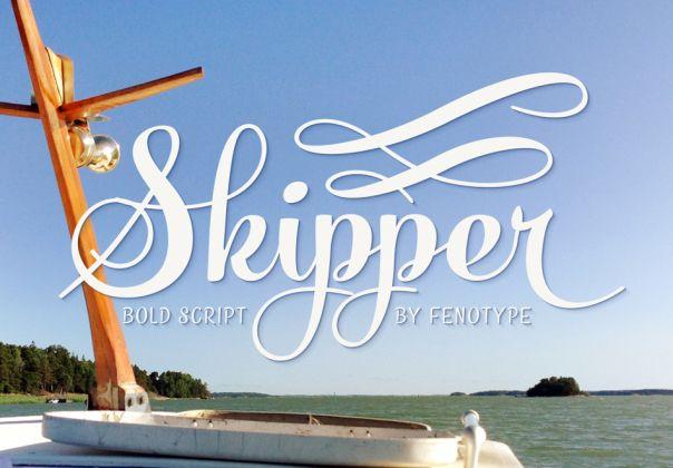 Skipper Amazing font