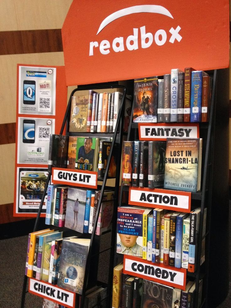 http://www.nikkidrobertson.com/search/label/library displays Genre display