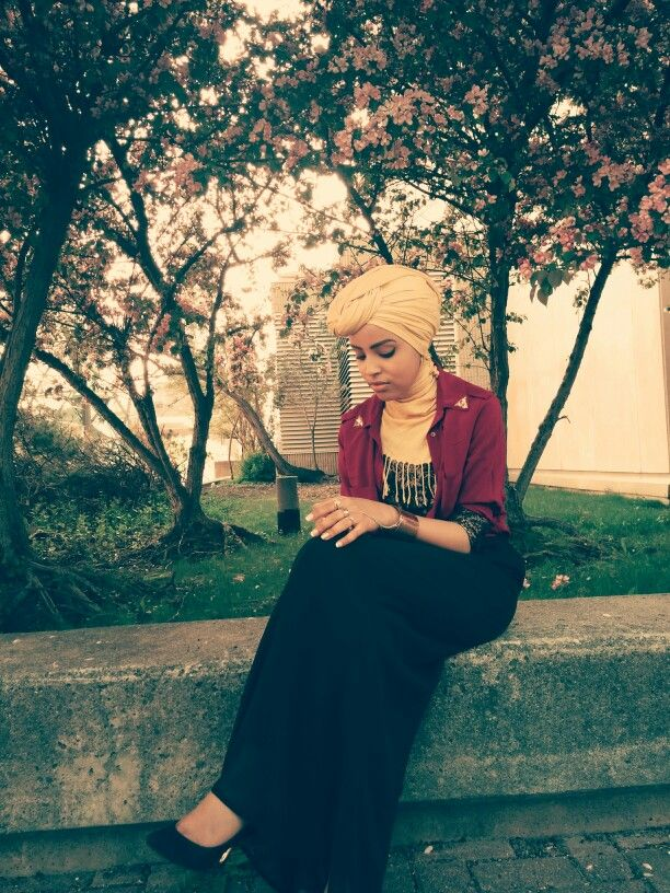 #turban #fashion #ootd #yellow #hijab #modest #style #spring