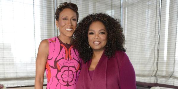 "Robin Roberts and Oprah Winfrey  talk about her Golden Globe nominated film ""Selma"""