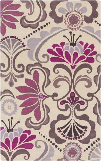 @Kate Mazur Spainu0027s Alahambra Rug Has Soft Pink, Purple, And Gray Tones In