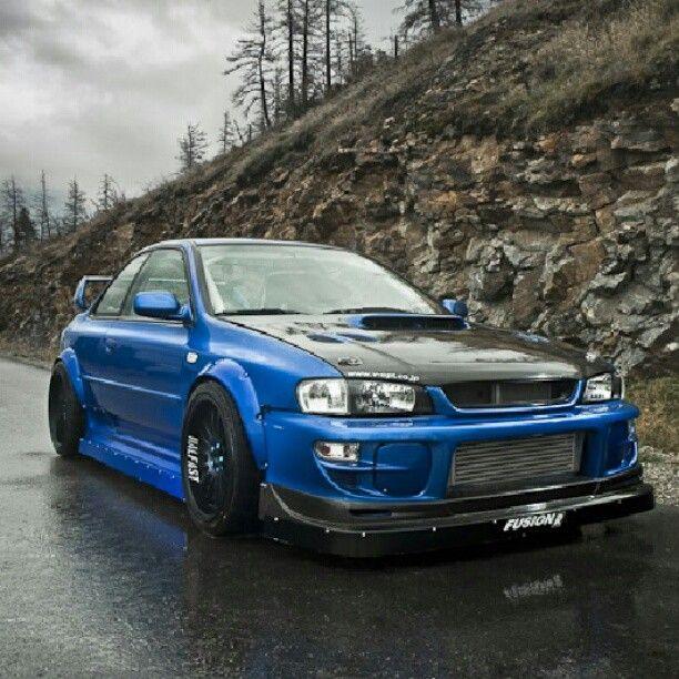 Subaru Impreza 2 5rs Coupe Jdm Pinterest Posts