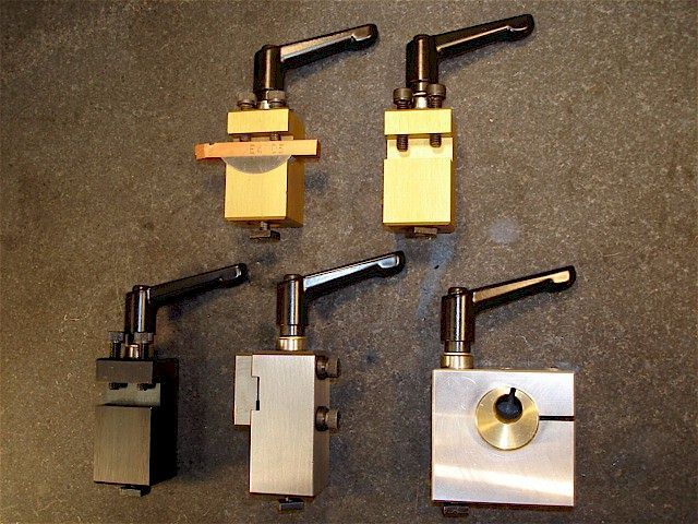 Taig Micro Lathe Tool Posts, Boring Bars & Locking Levers