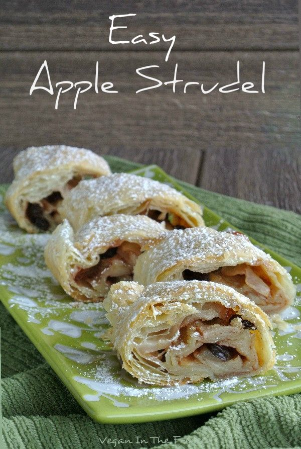 Easy Apple Strudel uses a pre-made puff pastry and you tweak it with a few ingredients. You will think it came from one of the finest bakeries.
