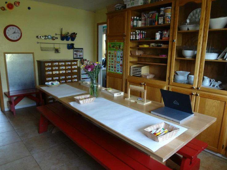 Long, Long Table (Busy Bee Preschool)