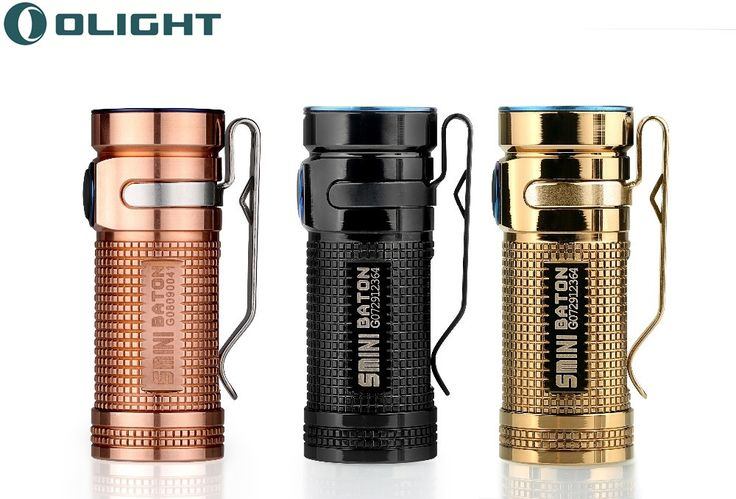 64.95$  Buy now - http://alinzk.shopchina.info/1/go.php?t=32815689865 - Olight mini led flashlight SMINI-CU Raw Copper 550 Lumens Cree XM-L2 LED torches Limited version Portable lighting flashlight  #buyonline