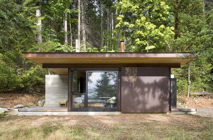 cabañaTiny Cabin, Small Cabin, Tiny House, Kundig Architects, Little Cabin, Small House, Olson Kundig, Islands Cabin, British Columbia