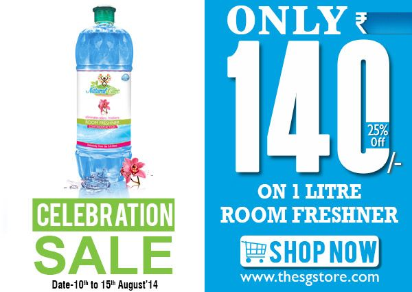 #room #freshner @only ₹140/- for 1 litre independence day offers