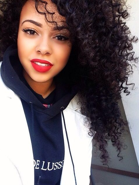312 Best +*+Long Natural Hair+*+ images | Natural Curls ...