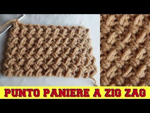 PUNTO PANIERE -  LAVORAZIONE IN TONDO - NUNZIA VALENTI - YouTube