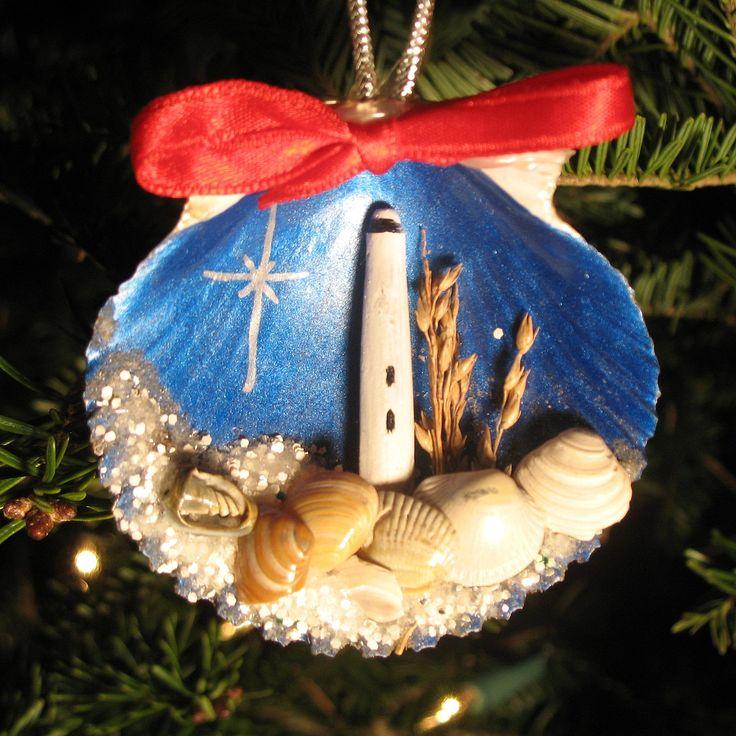 Best 25 seashell ornaments ideas on pinterest beach for Seashell ornaments diy