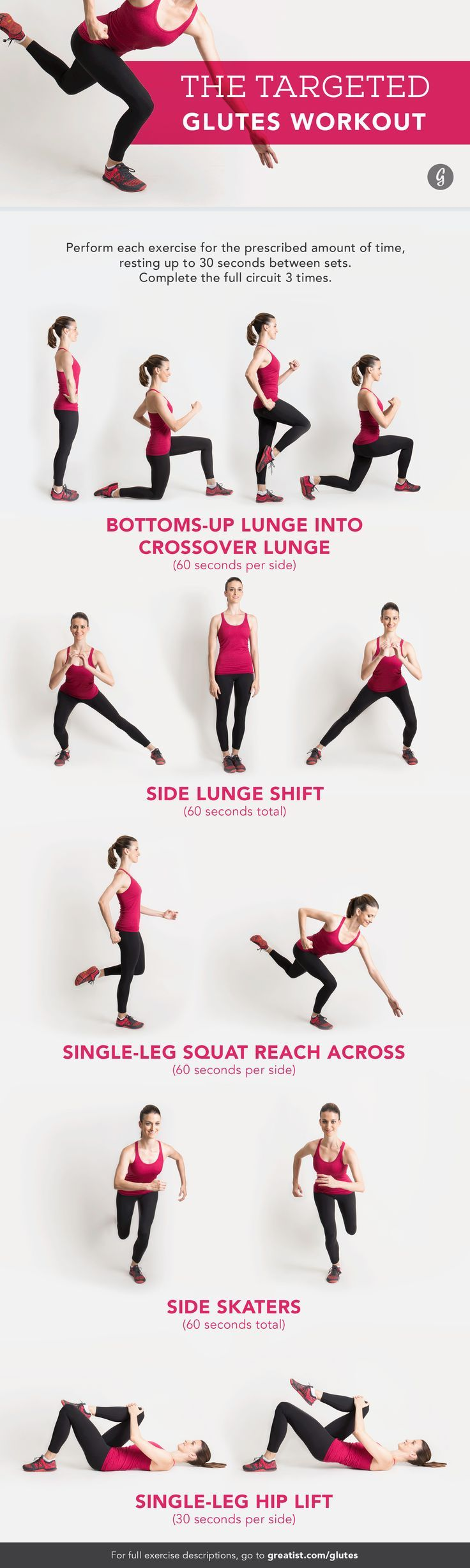 The 25 Killer Bodyweight Moves for Your Butt http://greatist.com/move/bodyweight-butt-exercises