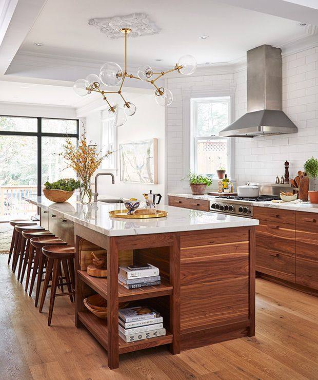 Tour A Modern-Meets-Vintage Kitchen | Photographer: Donna Griffith Designer: Sam Sacks