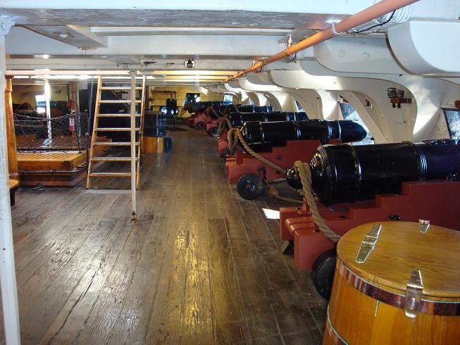 "Belowdecks, ""USS Constitution."" | Old Ironsides ... Uss Constitution Pictures Of Deck"