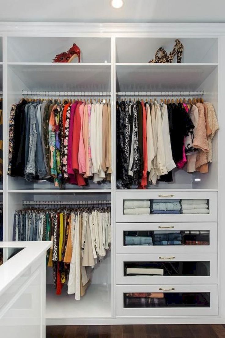 15 Gorgeous Wardrobe Storage Ideas Closet Decor Built In