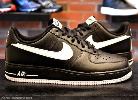 Nike Air Force 1 Low Black White (Back to Basics)